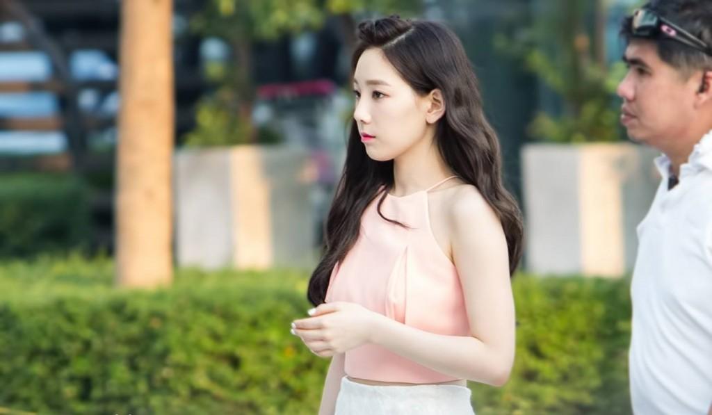 """แฟนคลับสุดฟิน!!กับความน่ารักสดใสของสาว """"Taeyeon"""" ในงานแฟนมีทติ้ง"""