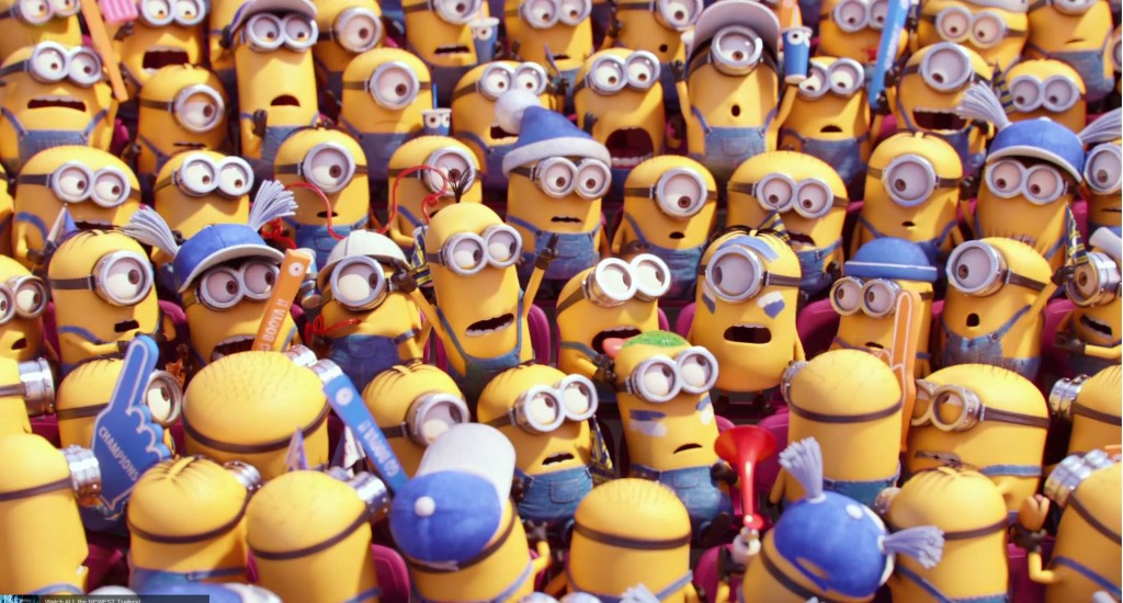 Minions มินเนี่ยน ฉายแล้ววันนี้ในโรงภาพยนตร์