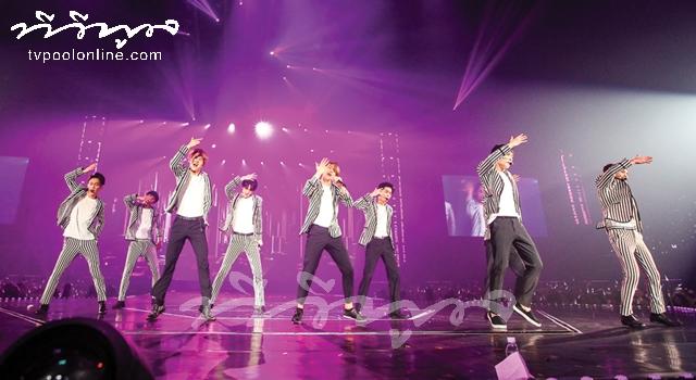 ฟินเว่อร์!   EXO ระเบิดความมันส์ใน EXO Planet #2 The EXO'luXion-in Bangkok