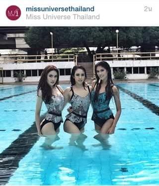 เรียกน้ำย่อย!! 40สาว แซ่บ ร้อน สะท้าน โชว์ชุดว่ายน้ำ มิสยูนิเวิร์สไทยแลนด์ 2015