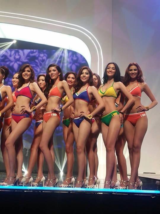 สาวๆ มิสแกรนด์ไทยแลนด์2014 โชว์ชุดว่ายน้ำเซ็กซี่!!
