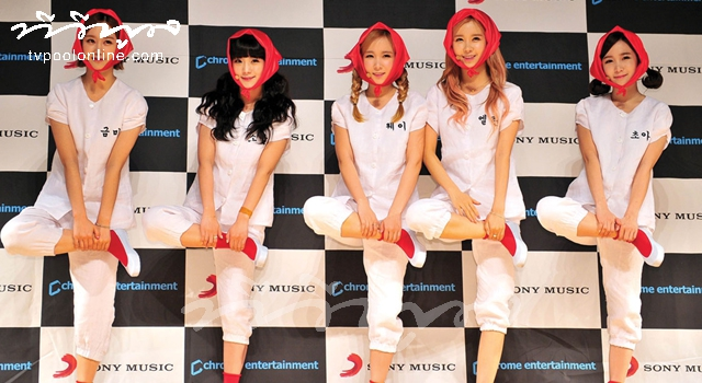 Exclusive Interview with Cute Girl Group 'Crayon Pop'