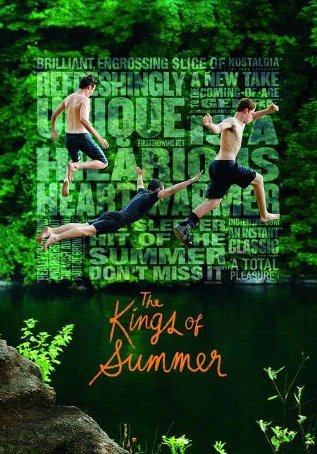"""จะมีซักกี่ช่วงเวลา ที่โลกทั้งใบเป็นของคุณภาพยนตร์ """"The kings of summer : ทิ้งโลกเดิม เติมโลกใหม่"""""""