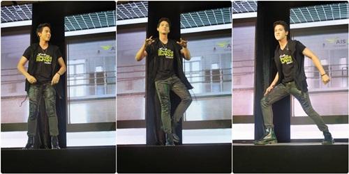 """""""เจมส์จิ"""" ปลื้มปริ่ม!! เป็นตัวแทนไทย ร้องเพลงเอเชียนเกมส์ที่เกาหลี"""