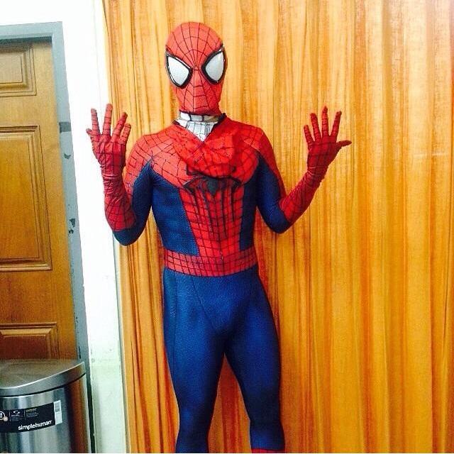 ซี-เอมี่ ควงออกงาน The Amazing Spider-man 2 : Rise of Electro