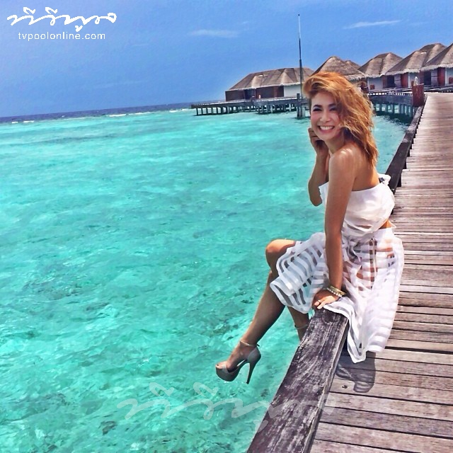 'เอมี่-ซี' รักหวานฉ่ำ @maldives