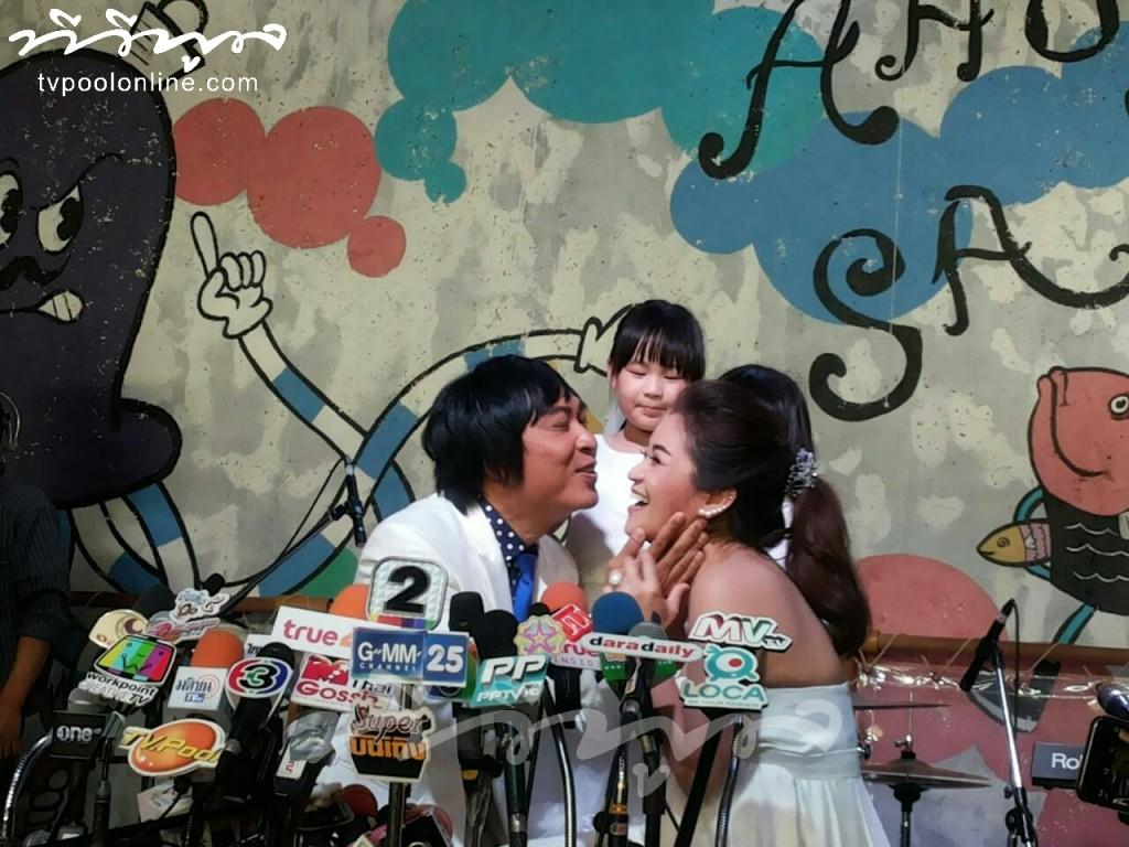 รวมภาพสุดหวาน งานแต่ง เปิ้ล นาคร -จูน กษมา 12ปี ชีวิตเหมือนฝัน