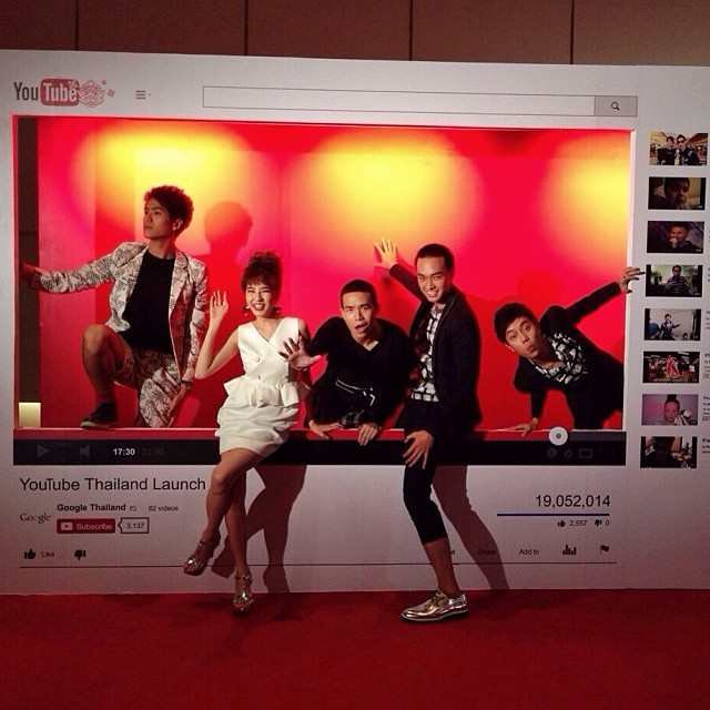 เก็บตกดารางานเปิดตัว YouTube Thailand!