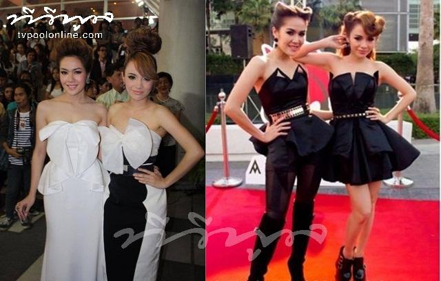 """Black&White"" ชุดสวยจาก 2สาว นิว-จิ๋ว"