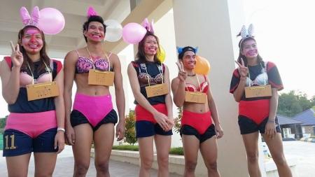 พิธีรับน้อง สุดแนว ของทีมวอลเลย์บอลไทย