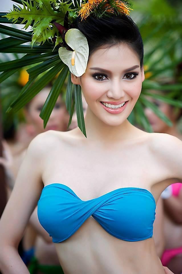 น้องพอลลี่ สาวสวยหุ่นเซี๊ยะ ดีกรี Miss Earth Thailand 2013