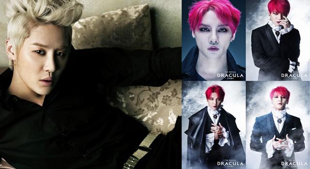 """แปลงโฉม """"คิมจุนซู JYJ"""" บทท่านเค้าท์ ในละครเวที DRACULAR"""