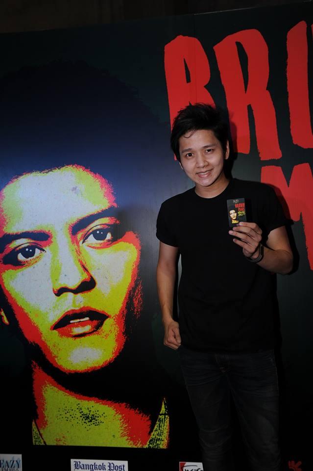 คอนเสิร์ต Bruno Mars The Moonshine Jungle Tour ที่ อิมแพค อารีน่า เมืองทองธานี