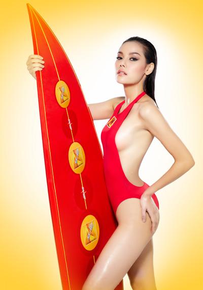 ปฏิทิน ดารานางแบบตอนรับ ปี 2014 สุดแซบถึงใจ จาก ซันโว