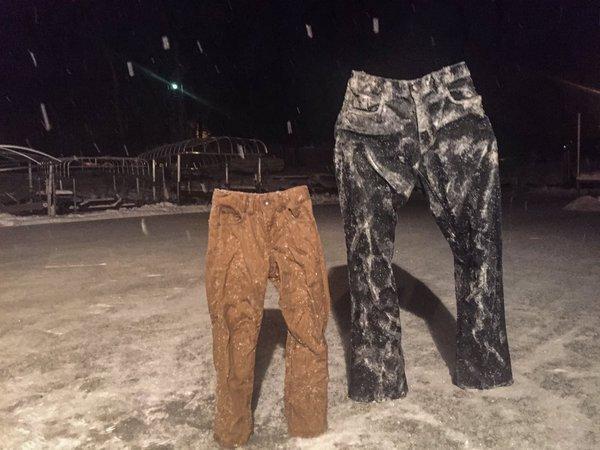 """จะเป็นอย่างไร?? เมื่อเทรนด์ """"กางเกงแช่แข็ง"""" ก็มาด้วย!!"""