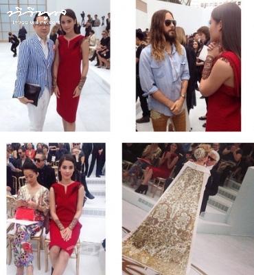 """เริ่ดค่ะ!!! """"ญาญ่า อุรัสยา"""" ร่วมงาน Paris Fashion Week อย่างสง่าสุดๆ"""