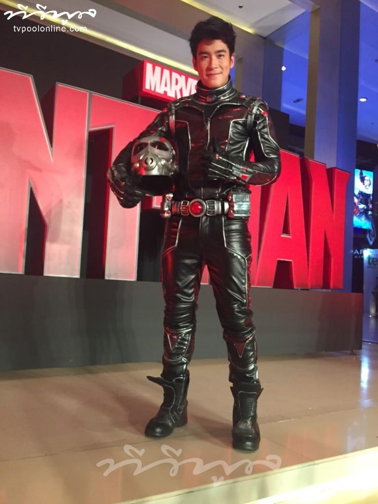 อาเล็ก ดี๊ด๊าใส่ชุด ant-man ยันไม่รัดเป้า โต้! กระแสคู่จิ้นจอย-อาเล็กไม่แผ่ว