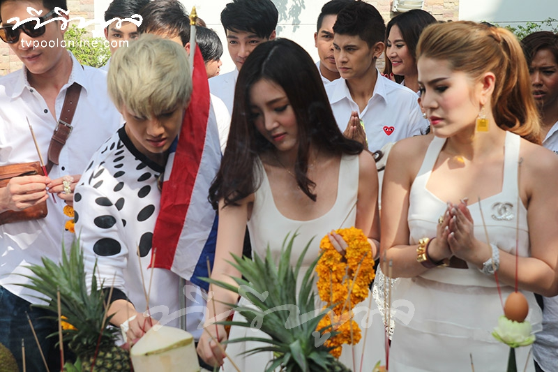 บวงสรวงละคร 'ซารังเฮฯ-บัลลังก์ริษยา' ช่องไทยทีวี