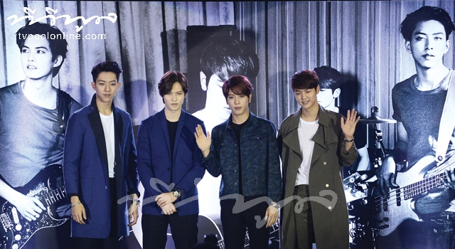 Interview with Hot Band 'CNBLUE'