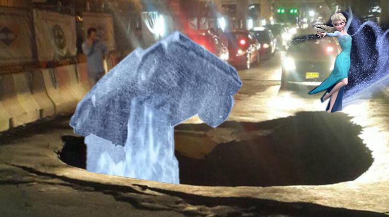 ชาวโซเชียลโชว์ไอเดียเก๋! เผยสาเหตุที่แท้จริงของถนนยุบที่บางแค