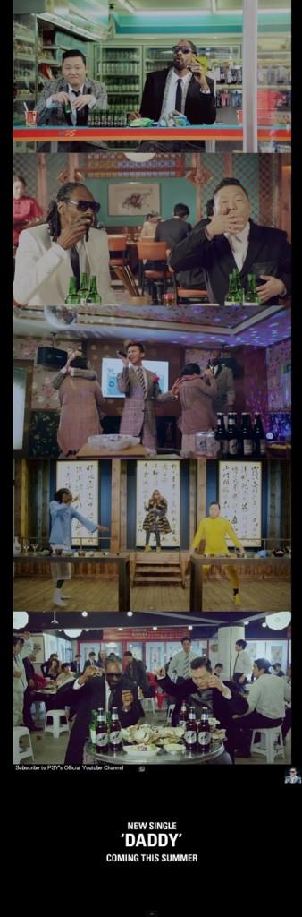 ไซ (PSY) ปล่อยเอ็มวี 'HANGOVER' แจมความฮาโดย G-Dragon และ CL