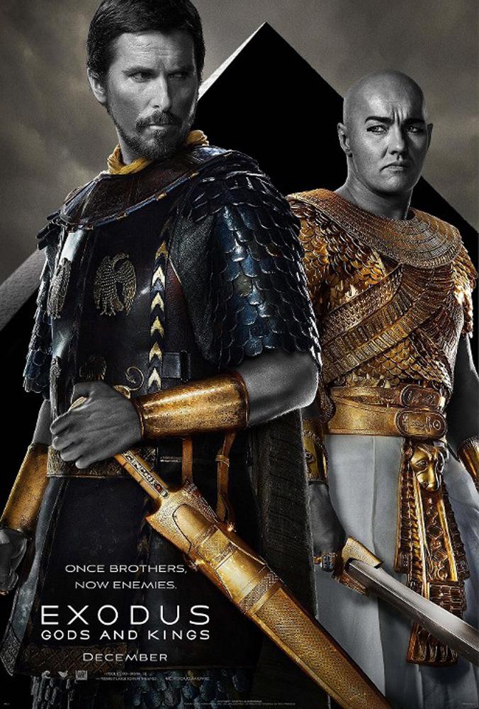 เผยสามโปสเตอร์แรกพร้อมตัวอย่างหนัง Exodus : Gods and Kings