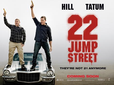 2 คู่หูตำรวจที่จะต้องย้อนวัยเป็นนักศึกษา อีกครั้ง ใน   22 Jump Street