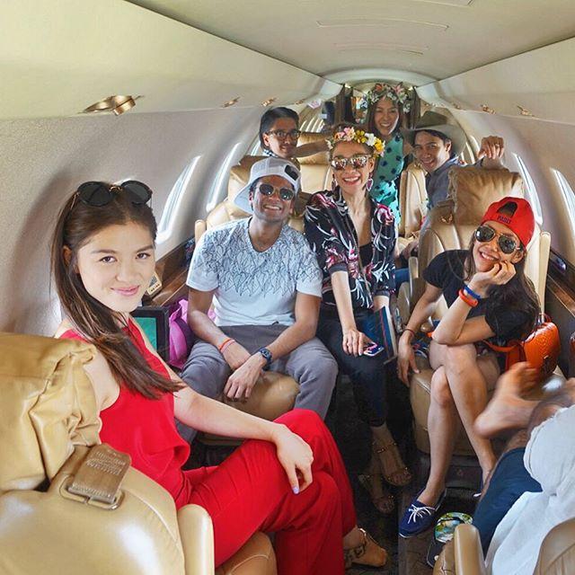 อื้อหือ! สวยและรวยมากเมื่อ พลอย ลิเดีย แอริน เนรมิตปาร์ตี้ระดับเซเลป  บนเครื่องบินเจ็ทสุดหรู