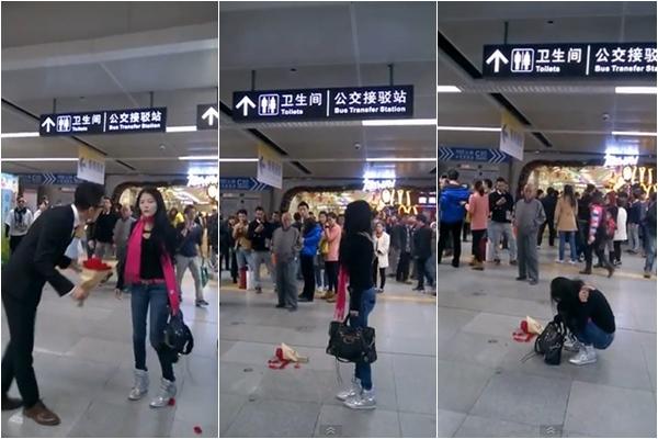 คู่รักหนุ่มสาวชาวจีนบอกเลิกกัน เหตุเพราะฝ่ายหญิงไม่แต่งหน้า !!