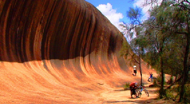 มหัศจรรย์ธรรมชาติ คลื่นหินยักษ์แห่ง ออสเตรเลีย