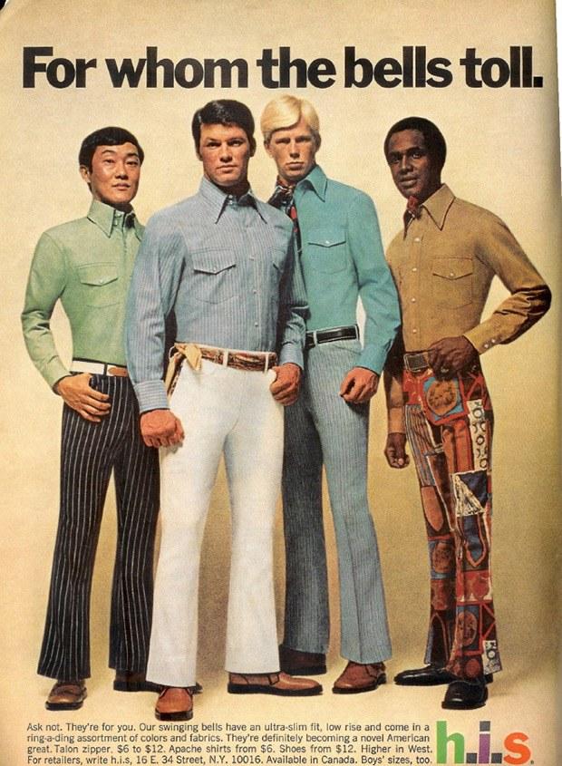 แฟชั่นชายในยุค1970 เจ๊ว่าแฟชั่นสมัยนี้แพ้ แน่นอน!!