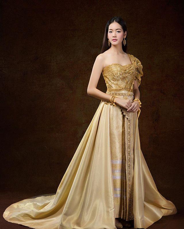 7 นางเอก ถ่ายแบบใส่ชุดไทยประยุกต์เป็นยังไงไปดู?