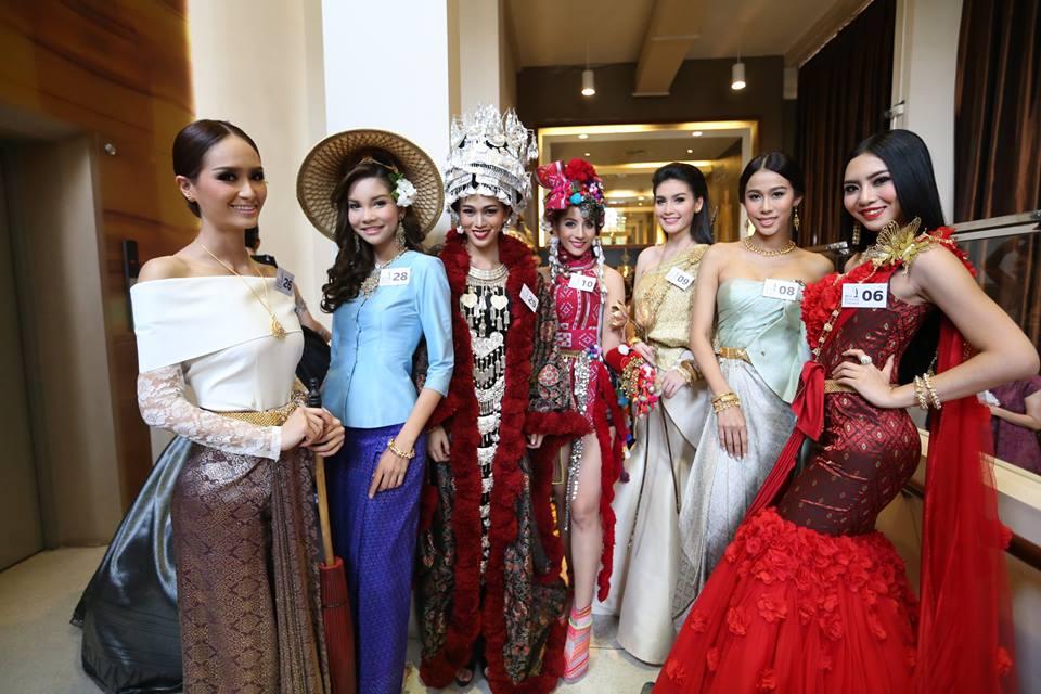 เจิดจรัส กับแฟชั่นชุดไทยแนวประยุกต์ จากเวที มิสยูนิเวิร์สไทยแลนด์ 2015