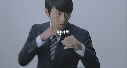 """""""ฮยอนบิน"""" แว้บ!! มาโชว์เท่  พรีเซนเตอร์ชุดสูทแบรนด์เกาหลี"""