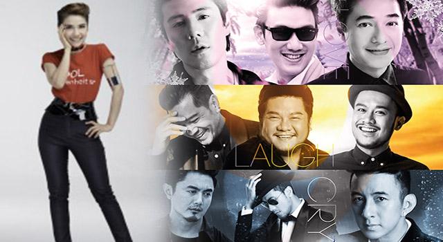 """""""คูล ฟาเรนไฮต์ 93"""" จัดใหญ่เปิดตัวคอนเสิร์ต  3 อารมณ์เพลงรัก จาก 9 ศิลปิน """"BANGKOK AIRWAYS และ COOLFAHRENHEIT 93 PRESENT LOVE LAUGH CRY WITH 9 MEN"""""""