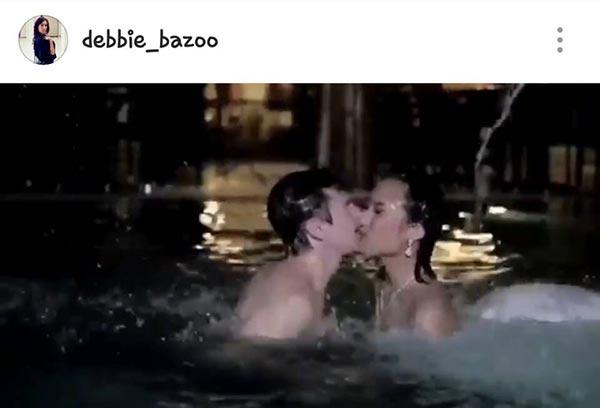 """โอโห!!! อิจฉา """"เด็บบี้ บาซู"""" """"เจ้าบ่าว"""" หล่อยังกะเทพบุตร!!!!"""