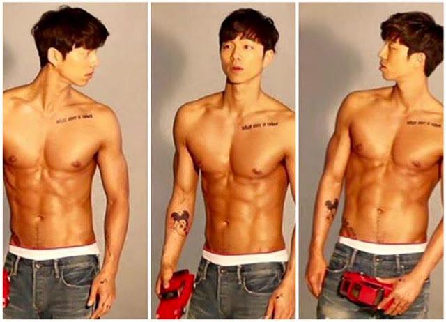 """กรี๊ด!!!! เก๋มากมาย…ภาพความหล่อเซ็กซี่ของ """"หนุ่มกง ยู"""" พระเอกหนุ่มจาก """"Train to Busan"""" บอกเลยของเขาดีจริง!!!!"""