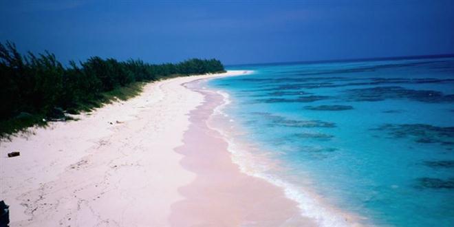 """หาดสีชมพูเเสนฟรุ้งฟริ้ง!!! """"เเห่งเกาะฮาร์เบอร์"""" ในประเทศบาฮามาส!!!"""