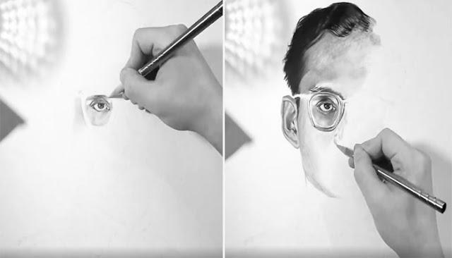 """งดงาม!!! ศิลปินเกาหลี..วาดภาพ """"พระบรมฉายาลักษณ์"""" สร้างความประทับใจแก่ชาวไทย(ชมคลิป)"""