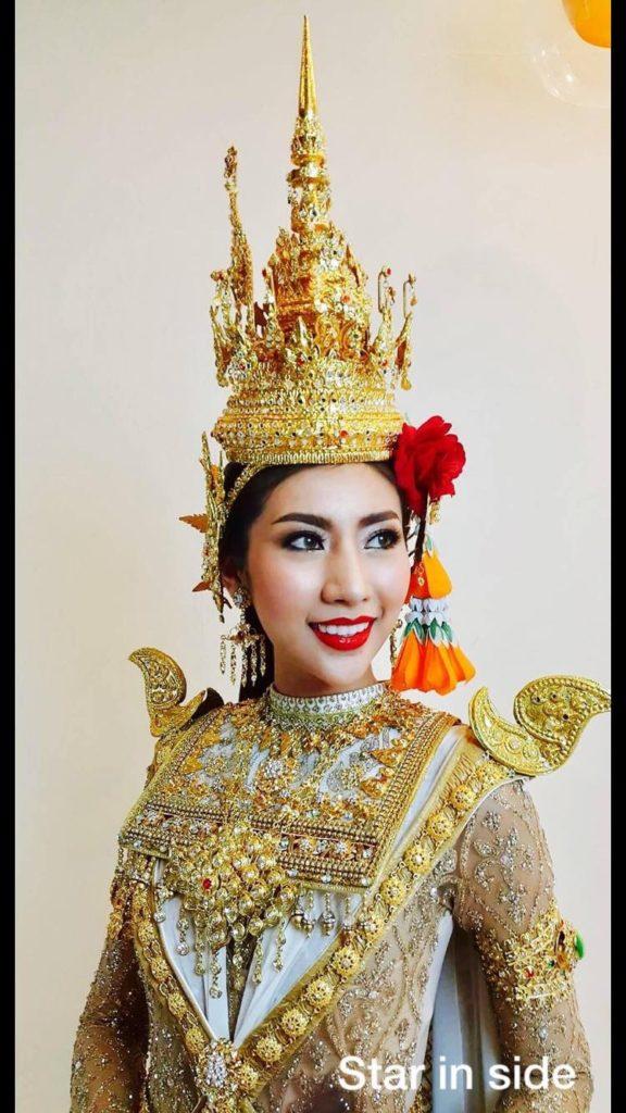 ชุดไทย นางรจนา คว้าอันดับ 1 ชุดประจำชาติยอดเยี่ยม