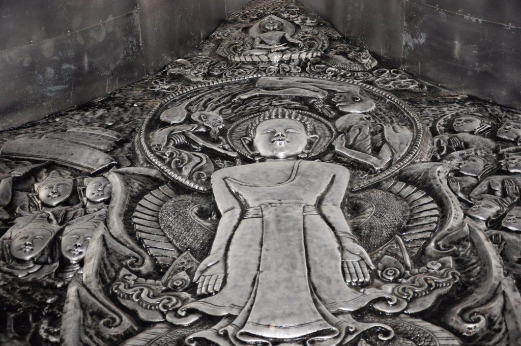"""งามสุดๆ…!!!อุโบสถเงินแห่งแรกของโลก """" วัดศรีสุพรรณ """" อ.เมือง จ.เชียงใหม่"""