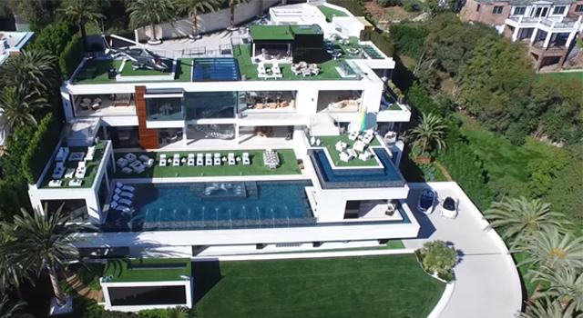 """พาชมบ้านที่ """"แพงที่สุดในสหรัฐฯ"""" มีมูลค่าสูงถึง 8,800,000,000 ล้านบาท!!! (ชมคลิป)"""