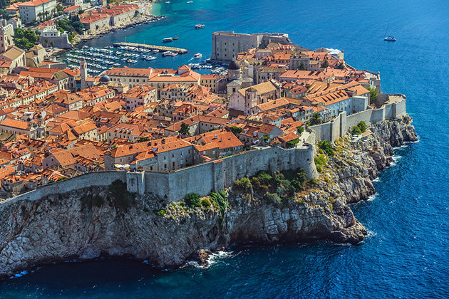 """ทิวทัศน์เกินบรรยาย …!!! """"ดูบรอฟนิก"""" (Dubrovnik) เมืองสวย จากโครเอเชีย"""
