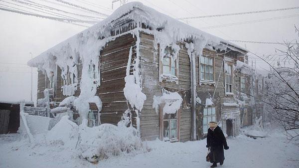 หมู่บ้านที่หนาวที่สุดในโลก…!!! อุณหภูมิ-71.2 องศา ที่โอมยาคอน