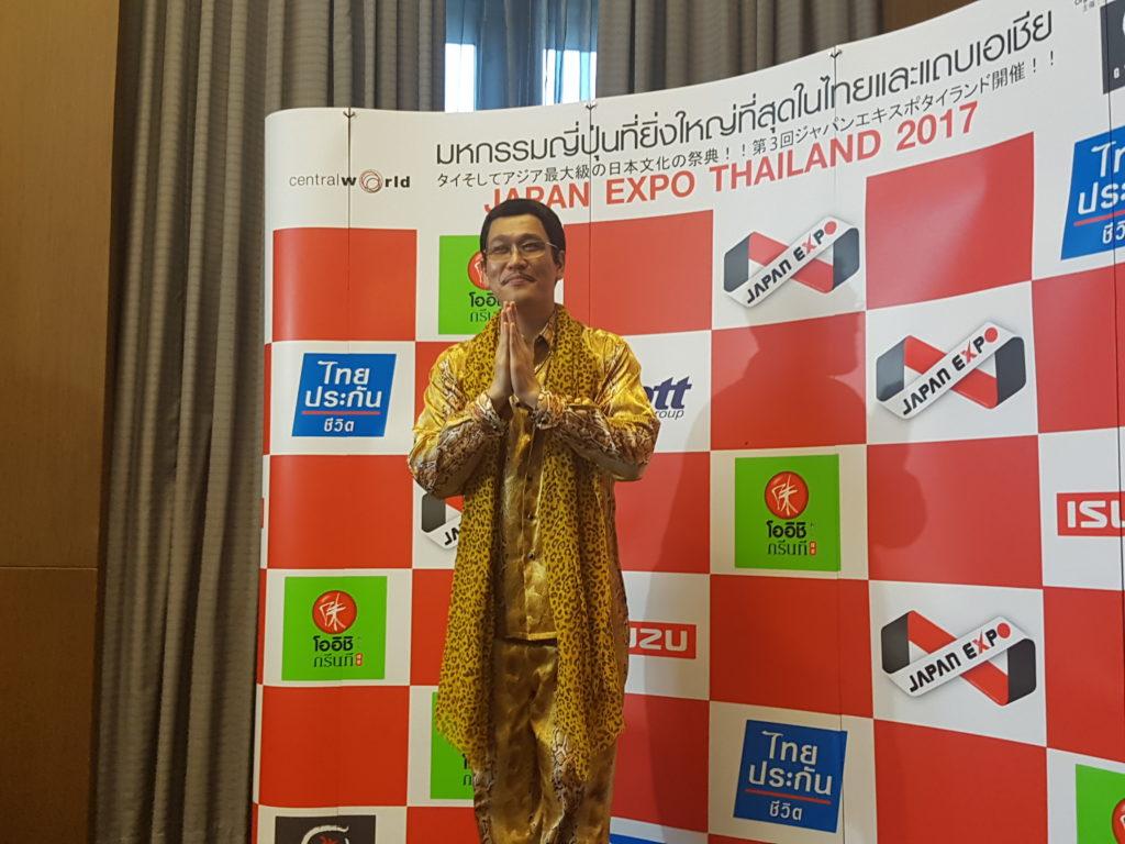 พิโก ทาโร่ เจ้าของเพลงPPAP ที่ดังไปทั่วโลก ร่วมงาน Japan Expo Thailand 2017