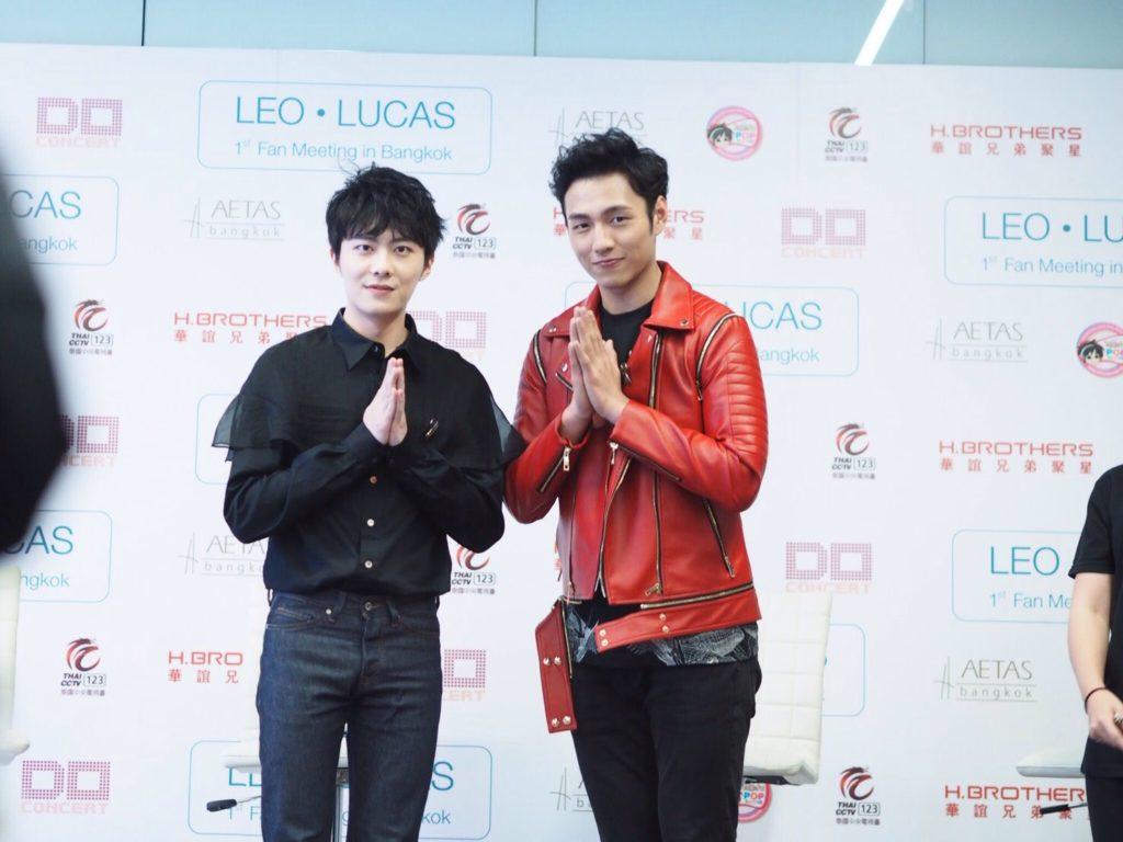 """สาววายว่าไง?? คู่จิ้น """"LEO-LUCAS"""" เยือนเมืองไทย พร้อมฝากถึงแฟนๆแบบนี้!!"""