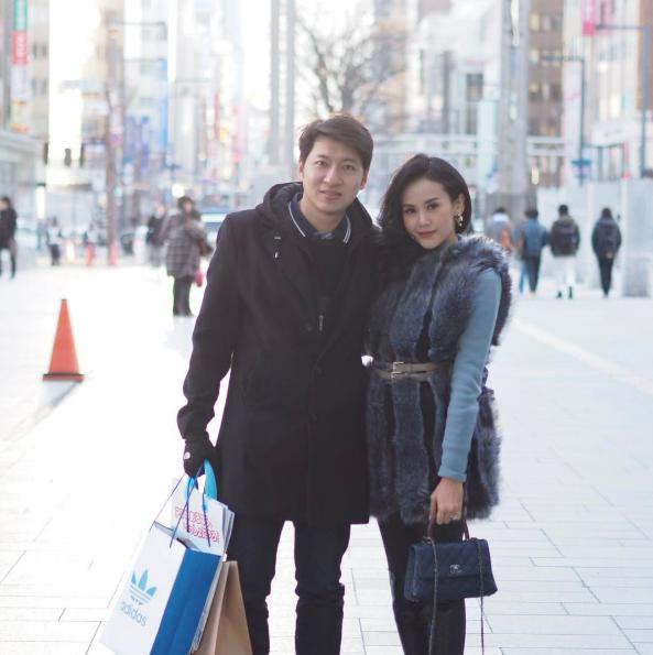 """ชีวิตดี๊ดี! """"แยม ธมลพรรณ์"""" ควงสามีเที่ยวญี่ปุ่น"""