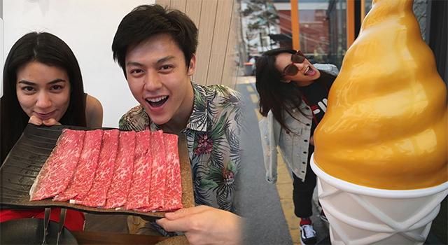 """""""คิมเบอร์ลี่"""" เขิน! ทริปเกาหลีตะมุตะมิ  ยิ้ม!มีตากล้องส่วนตัว"""