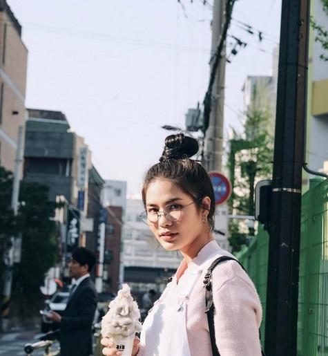 """ส่อง 10 ภาพ ชิลๆของ """"น้ำ ชลิตา"""" เที่ยวเกาหลี"""