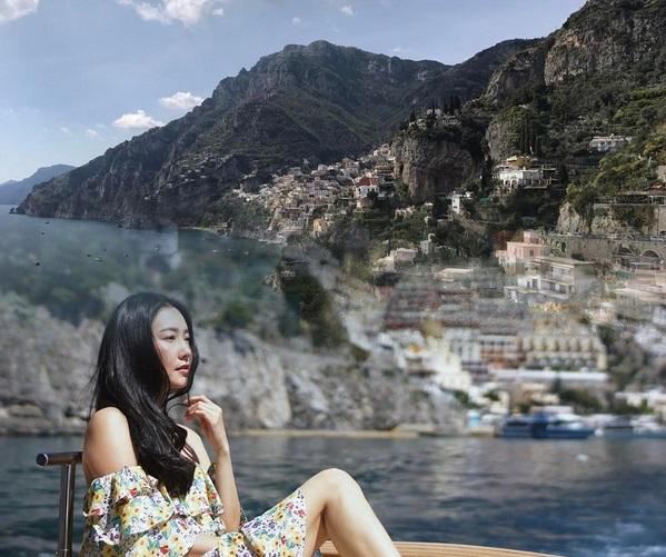 """ส่อง 10 ภาพสุดชิลของ """"นุ่น  วรนุช"""" เที่ยวอิตาลี"""